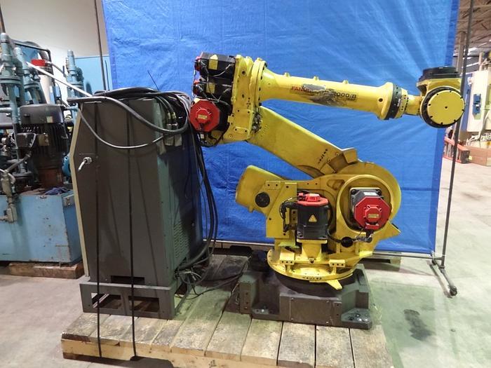 Used FANUC R2000iB/165F 6 AXIS CNC ROBOT W/ R-30iA CONTROL