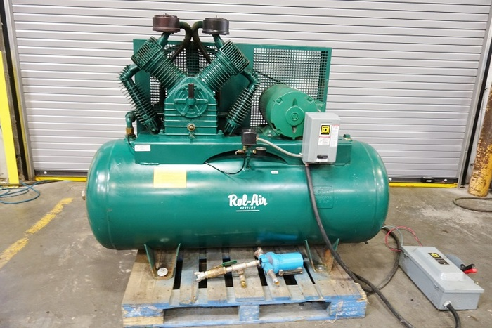 Rol Air 2 Stage 10 Hp Air Compressor 10 HP 2 Stage