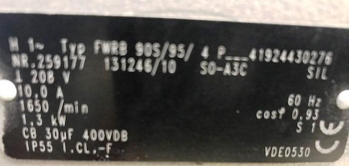 Becker 1.7 HP Regenerative Blower