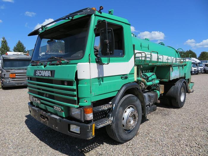 Ikke angivet 1988 Scania P93/250 4X2 HVIDTVED LARSEN SLP 7,0