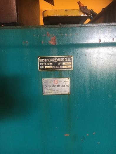 1981 MITSUI SEIKI XLO-120 CNC BALL SCREW GRINDER