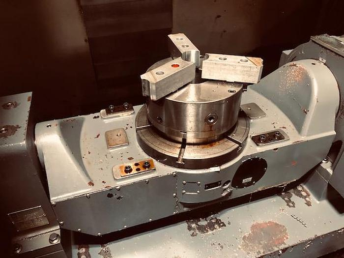 2011 Leadwell Model V-40iT (5 Axis) Trunnion Table
