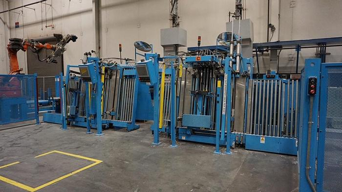 Used 2004 Quad Tech Vertical Log Stackers