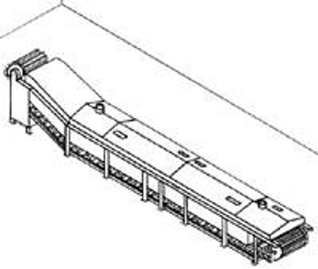 Używane Blanszownik kubełkowy ze schładzaniem wodnym Typ NGF 10-00