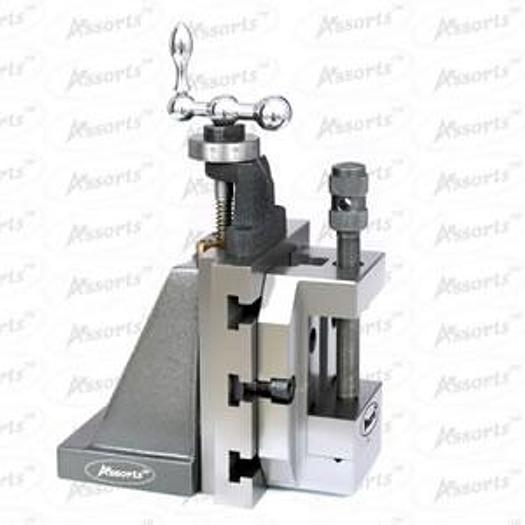 Assorts - 60 mm Steel Vice Mounted on Lathe Vertical Slide