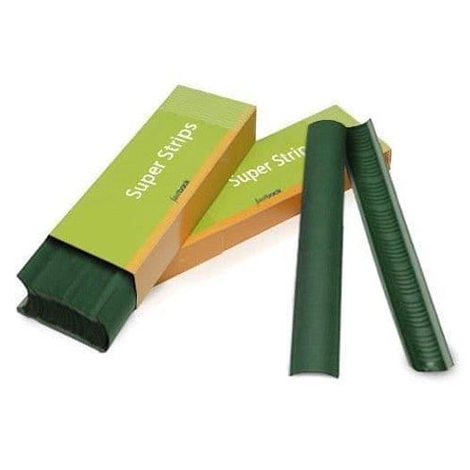 Green Fastback Binding SuperStrips A4 Medium Linen - Box (400)