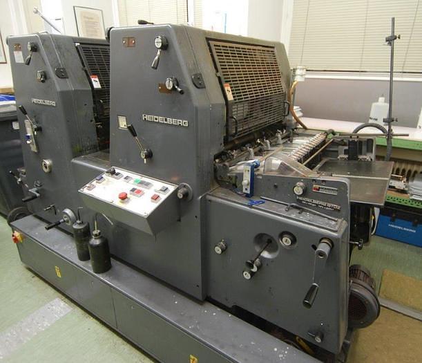Gebraucht Heidelberg Bogenoffset-Druckmaschine GTO Z 52+, 1988, #1265730