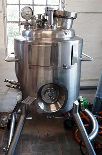 Used Process tank with 100 liter volume