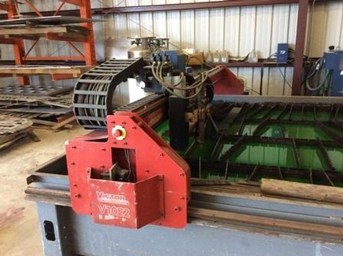 2011 Victory II CNC Plasma | 10' x 20' Oxy 400 Amp High Difinition Ultra-Cut