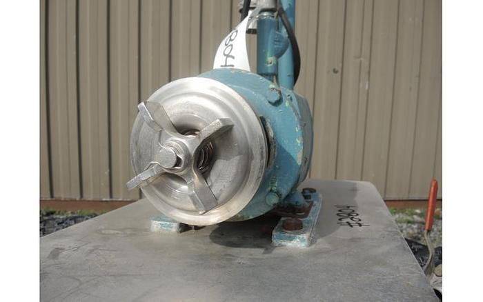 """USED CENTRIFUGAL PUMP, 1"""" X 1.5"""" INLET & OUTLET, STAINLESS STEEL, SANITARY"""