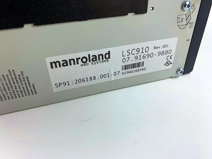 MANROLAND LSC910 Automation PC Industrial PC