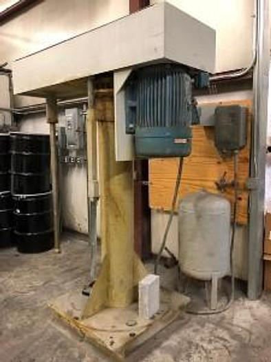 Used 30 HP HIGH SPEED DISPERSER – INFO FORTHCOMING (#9735)
