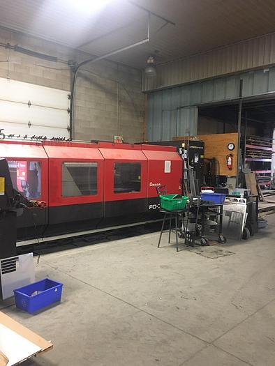 4000 Watt Amada FO-3015NT CNC Laser