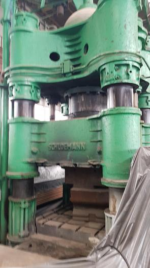 1965 Forging press hydraulik Schloemann 1500t