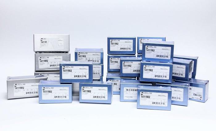 Hammond 1411MU, 1411NU,1411KU Lot of Aluminum Boxes (2830)
