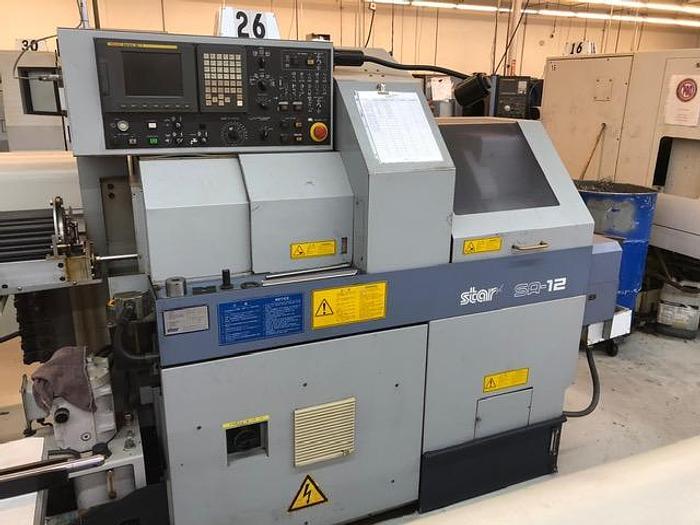2000 Star SA-12 CNC Swiss Screw Machine - Excellent Condition