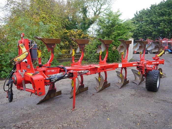 Used Pottinger Servo 45S Plough