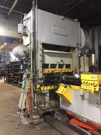 Used 160 TON MINSTER SSDC PRESS