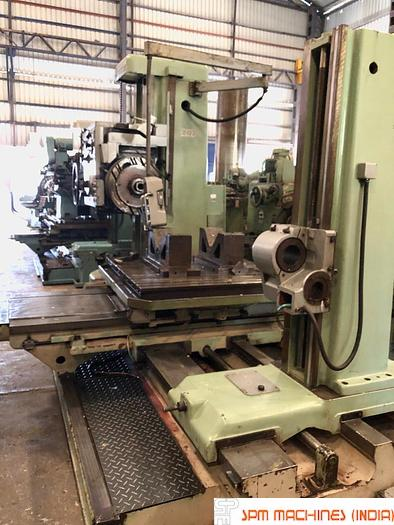 Used TOS W100A H Boring Machine (Hardened Bed + ISO Taper) - 1982