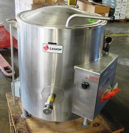 Used Legion Industries 304 S.S. Self Contained Kettle Mod# LEC-30 (30 Gal) Item #8772