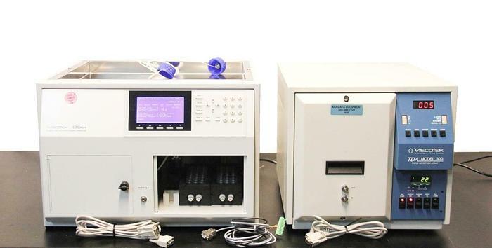 Used Viscotek VE 2001 GPC Max TDA 300 Laboratory Chromatography System +Extras (7455)