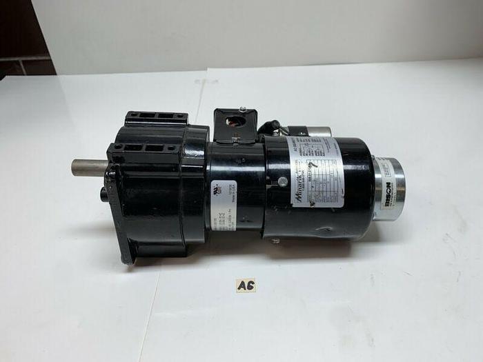 Used Bison Minarik 508-01-255 AC Gear Motor 1/15hp 115/230V Ratio 107.6:1 *Warranty*
