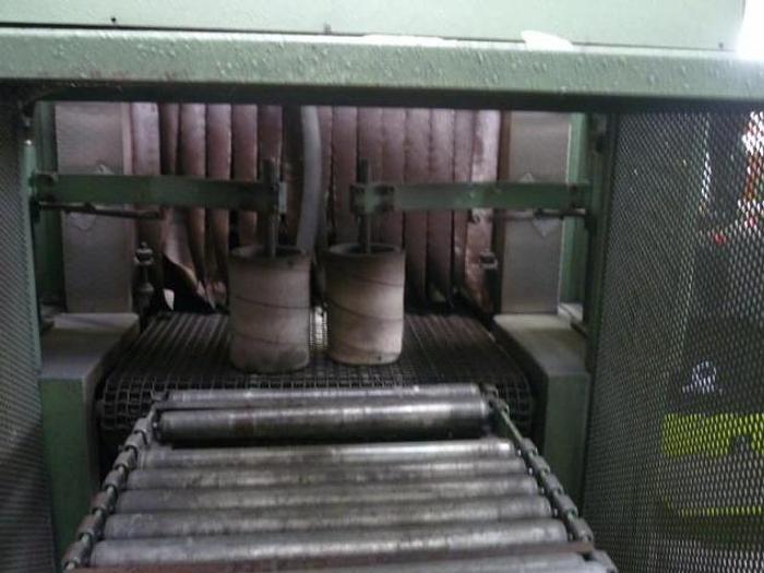 Folieneinschlagmaschine mit Schrumpftunel Wipperfürth