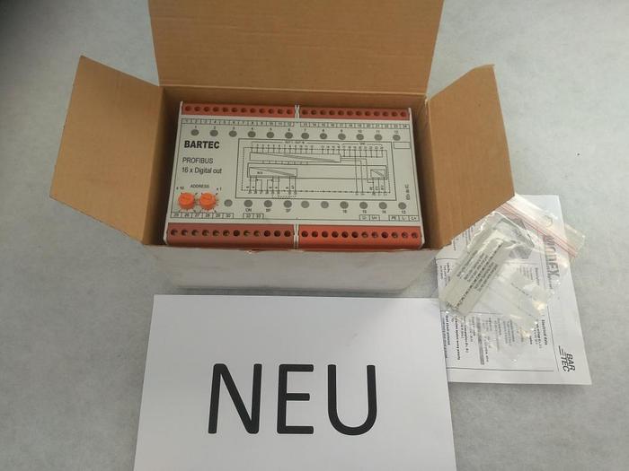 Profibus 16x Digital, Eex, 07-7331-2301, Bartec, Eex, neu