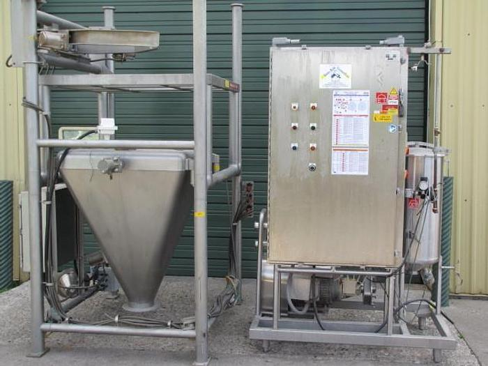 USED SEMI-BULK SYSTEMS NON FAT DRY MILK SYSTEM, SANITARY