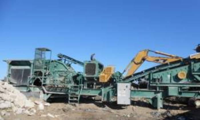 1995 Portable Eagle / Impact Crusher / Crushing Plant