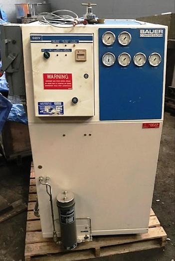 2002 Bauer Nitrogen Compressor G120V/7.5