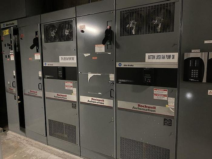 Used ALLEN BRADLEY VARIABLE SPEED DRIVE MODEL 1336 (TWO AVAILABLE)