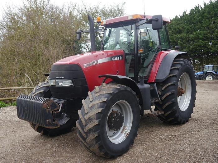 Used CASE MXM 190 4WD Tractor
