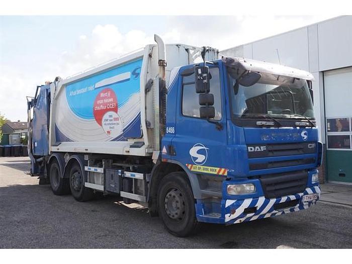 Used 2008 DAF CF75.250 / 6x2 / Garbage Truck / Geesink / Manual / 555043 km