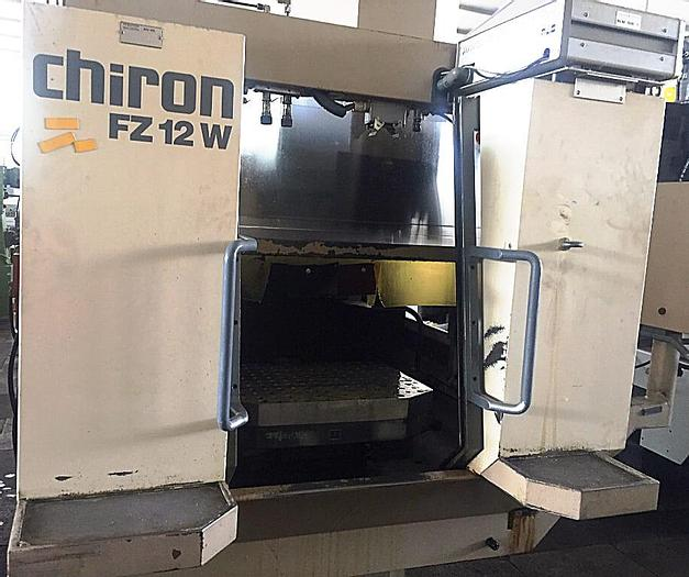 Used CHIRON FZ12W - 1990