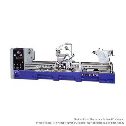 ACRA Precision Gap Bed Engine Lathe 3600SET