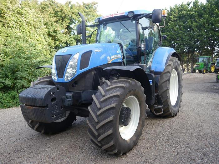 Used New Holland T7.235 AC 4wd Tractor