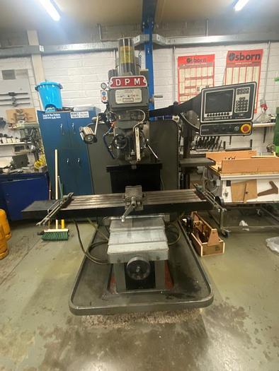 Used 2000 XYZ DPM CNC Toolroom Milling Machine