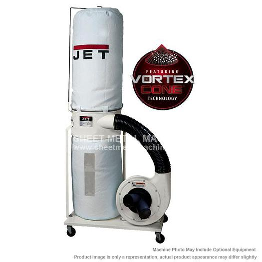 JET DC-1200VX-BK1 Dust Collector 2HP 1PH 230V 30-Micron Bag Filter Kit 710701K