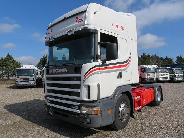 Meget god 2001 Scania 124/420 4x2 Topline Euro 2
