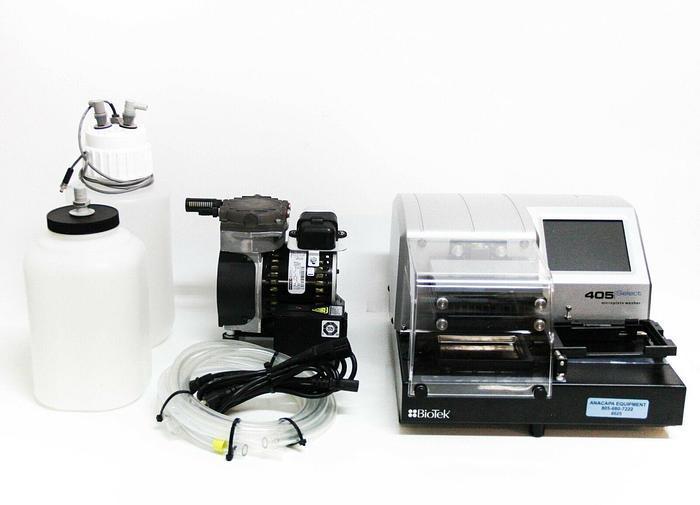 Used BioTek 405 Select 405TSUS Microplate Washer 96 Well w/ Ultrasonic (6025)