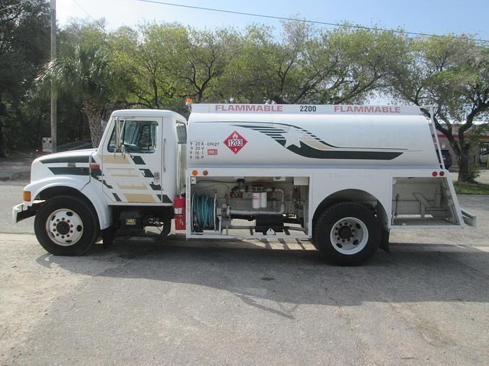 Used 1998 International 4700 Fuel Truck