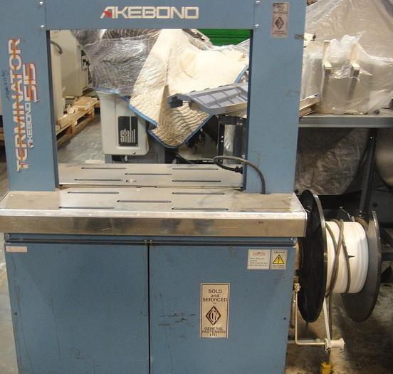 Used Akebono 515 Strapping Machine
