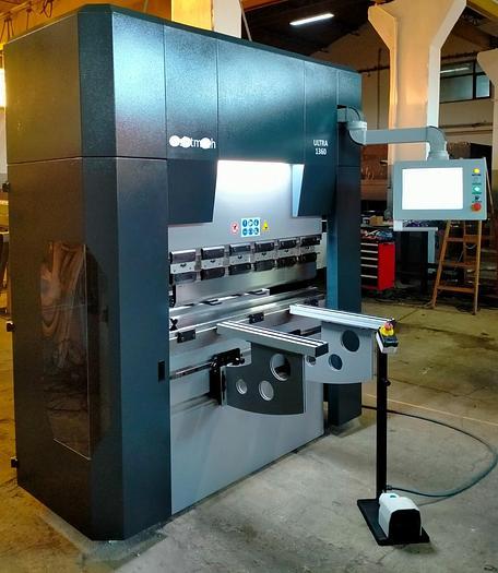 PIEGATRICE CNC 4 ASSI IBETAMAC ULTRA 1300X60 T CE CNC CYBELEC CYB TOUCH 15  Y1+Y2+X+R