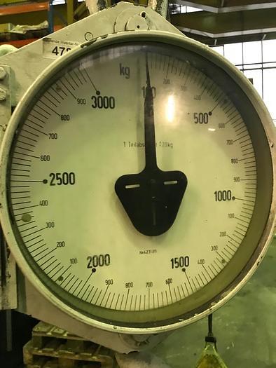 Kranwaage bis 3000kg