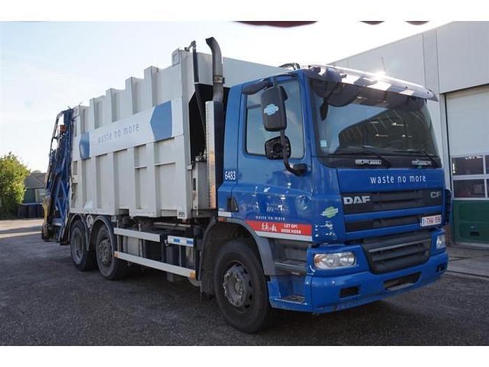 Used 2009 DAF CF75.250 / 6X2 / Garbage Truck / MOL / EURO 5 / Manual / 489.555 km