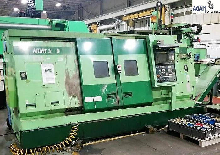 Used MORI SEIKI DL-25MC CNC TurnMill Center (7 Axes)