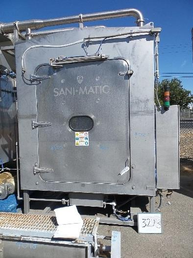 Used Sani-Matic Tote-S-57-P-ST #3223