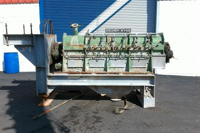 Used BIRD ESCHER WYSS RS2B REJECT SORTER 30TPD 1991