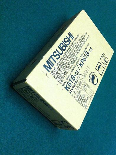 Gebraucht Mitsubishi K61B-CE / KP61B-CE Thermisches Papier 4 Rollen für S/W Drucker